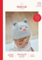 Sirdar Snuggly 100% Cotton DK Knitting Pattern - 5275 Owl Hats